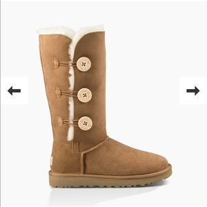 Ugg Boots with Buttons